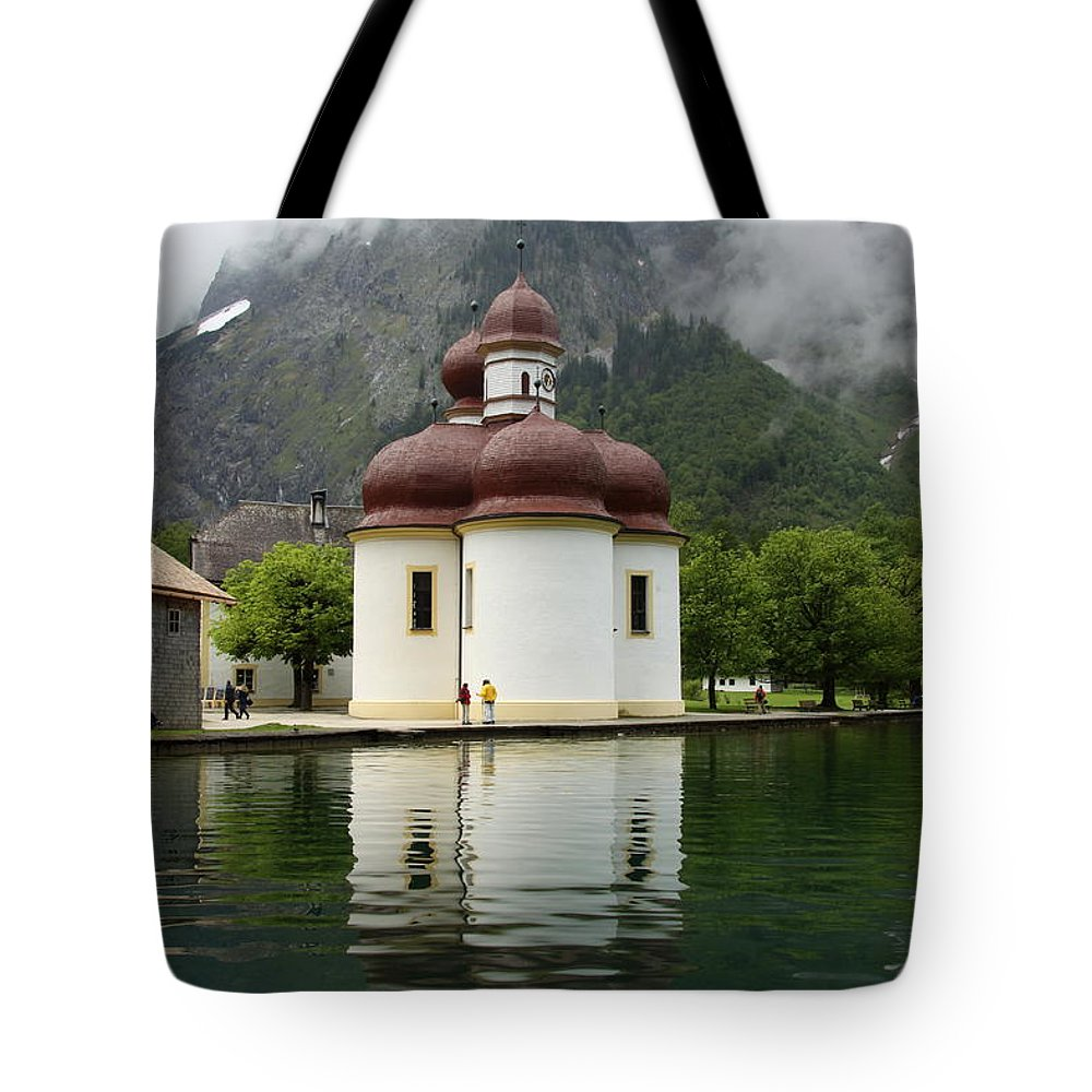 Church Tote Bag featuring the photograph St. Batholomae Church by Christiane Schulze Art And Photography