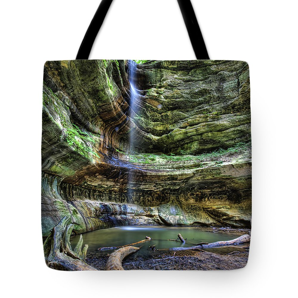 St Louis Canyon Tote Bag featuring the photograph St Louis Canyon by Scott Wood