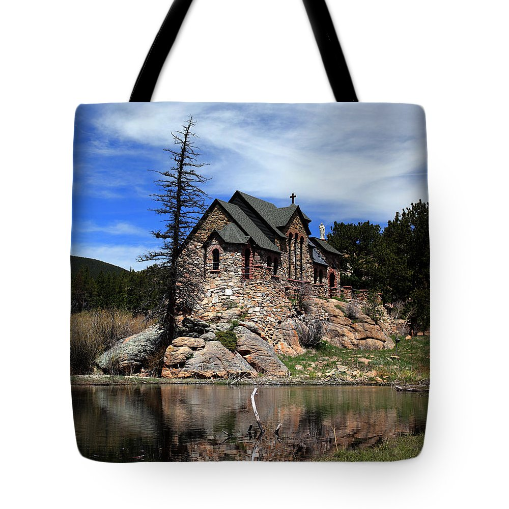 St. Malo Tote Bag featuring the photograph St. Malo Chapel by Shane Bechler