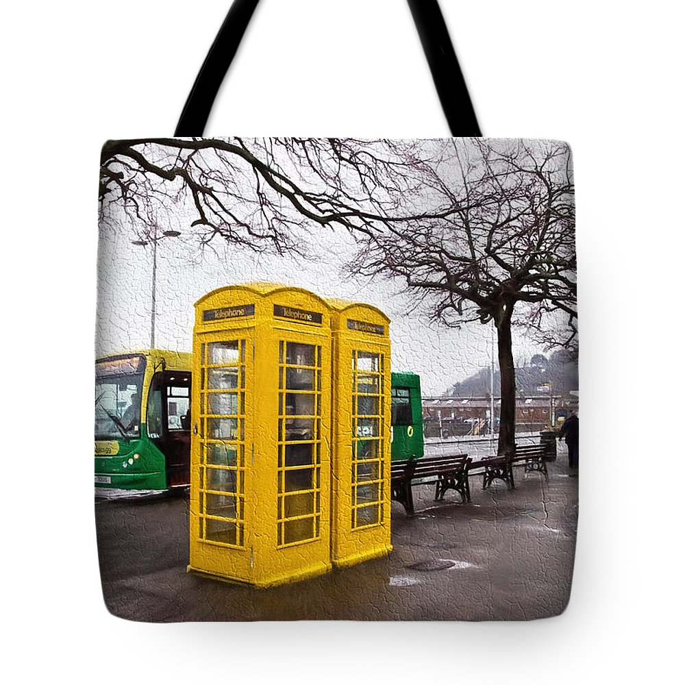 St-peter-port Tote Bag featuring the photograph St Peter Port - Guernsey - Impressions by Susie Peek