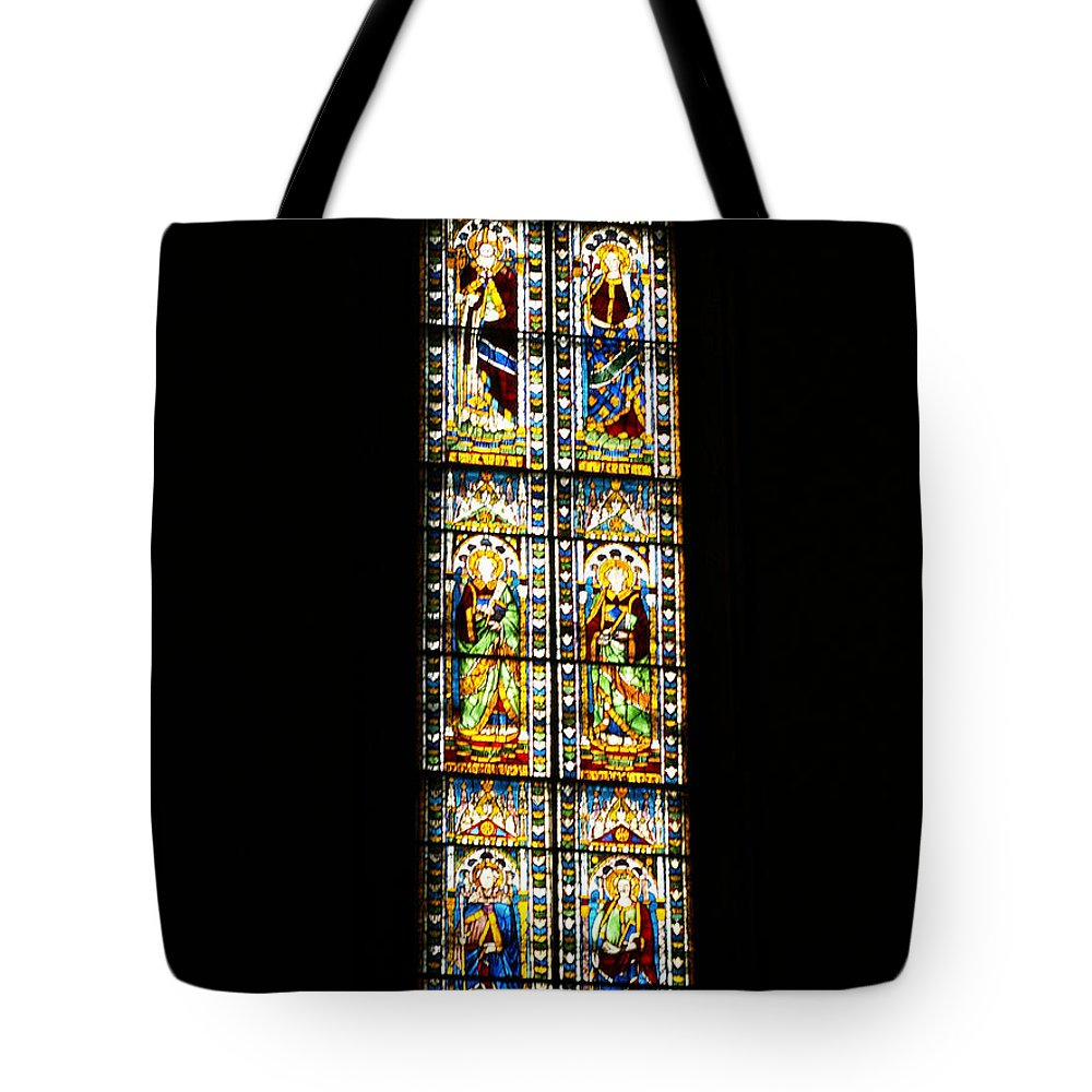 Florence Tote Bag featuring the photograph Stained Of Florence by Evgeny Pisarev