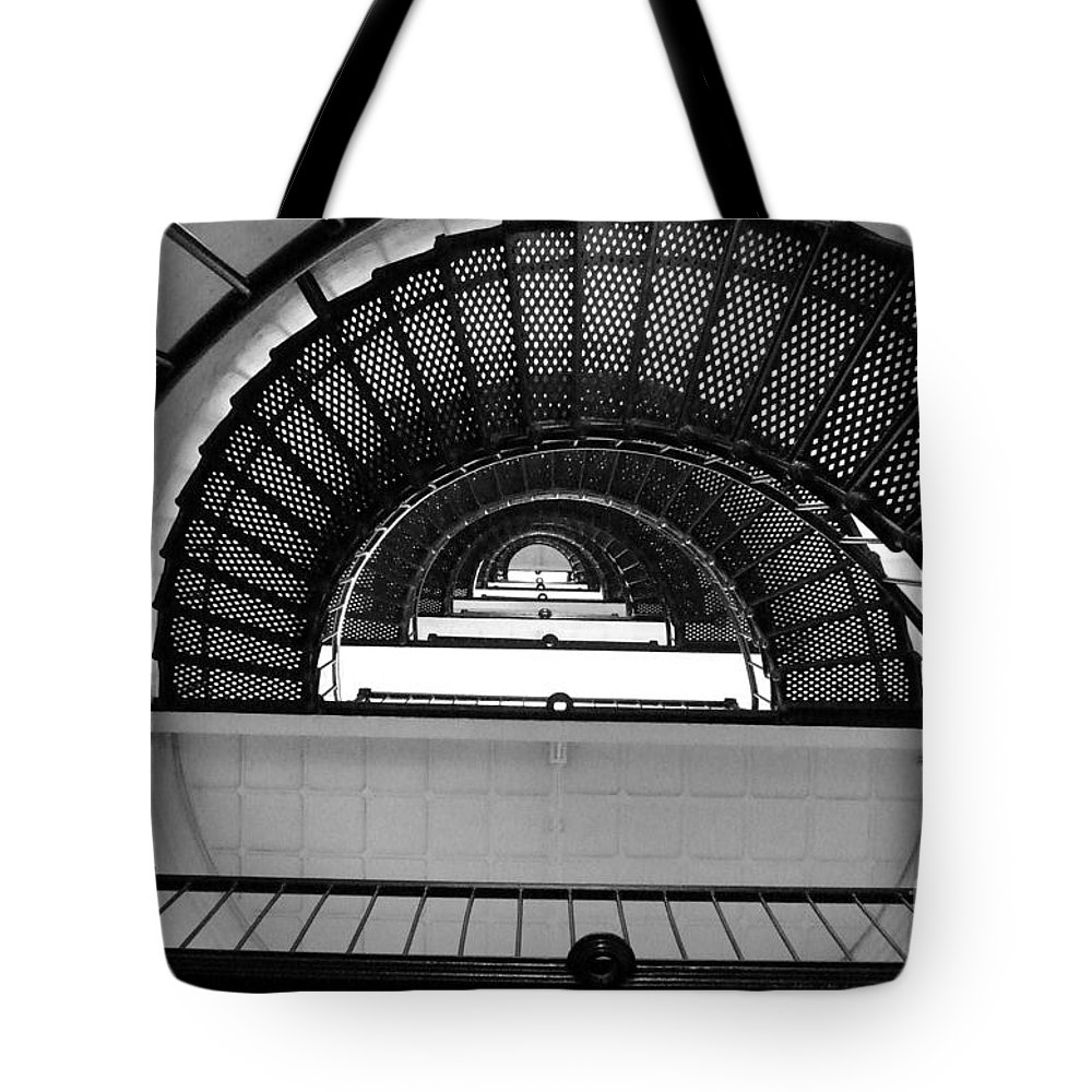 Stairs Tote Bag featuring the photograph Stairs by Andrea Anderegg