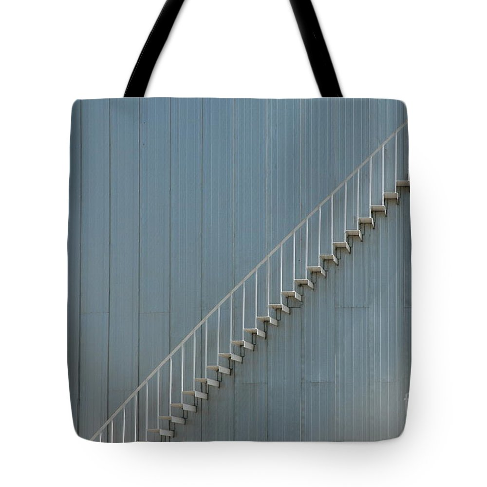Abstract Tote Bag featuring the photograph Stairway To Heaven by Crystal Nederman