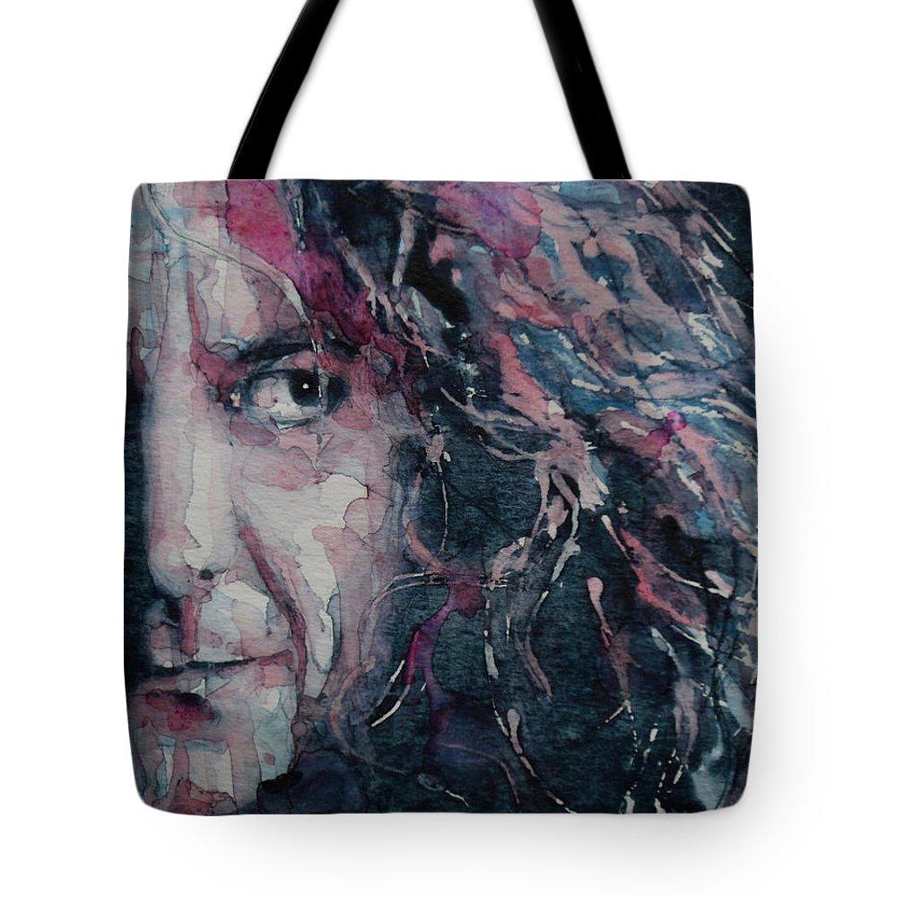 Robert Plant Tote Bags