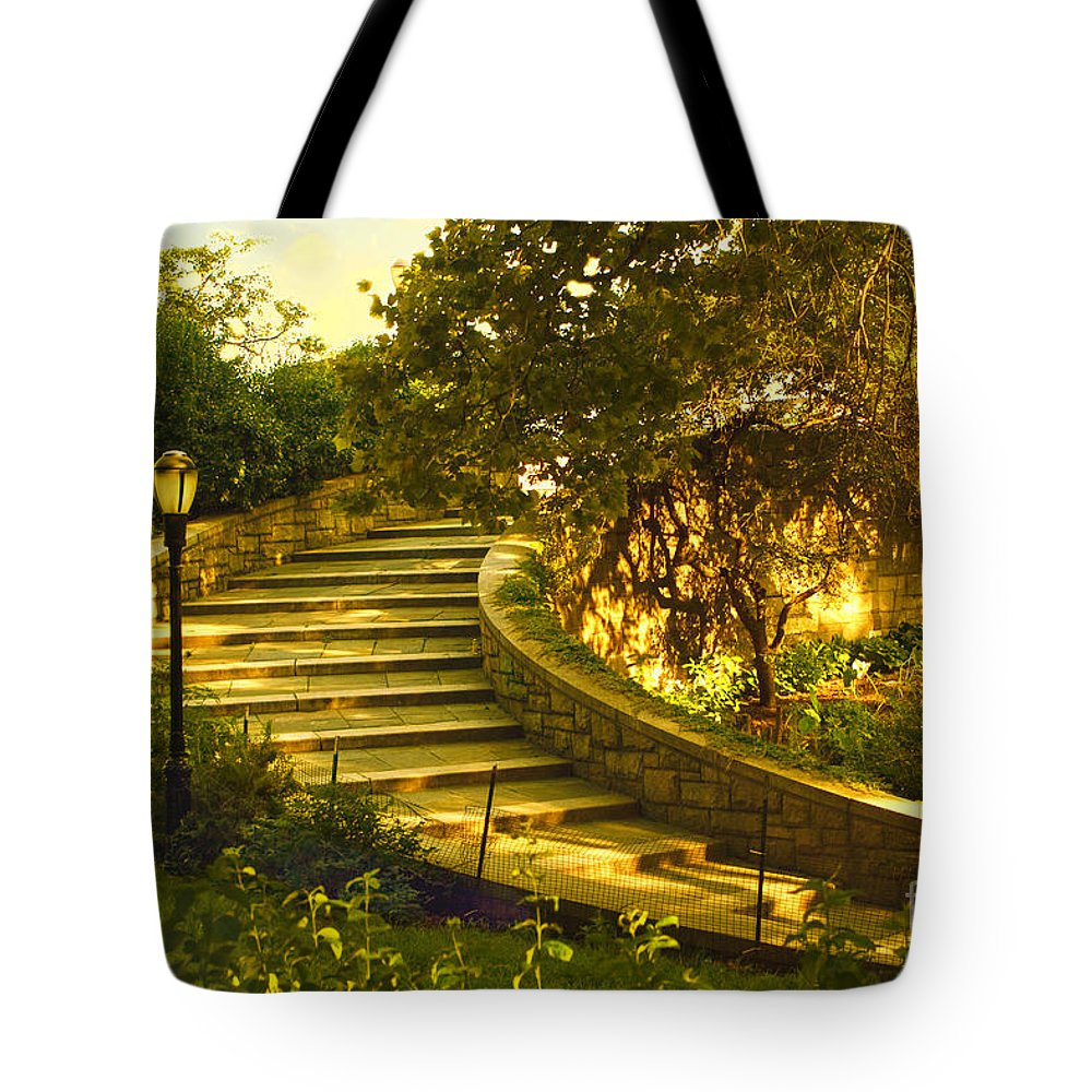 Park Tote Bag featuring the photograph Stairway To Nirvana by Madeline Ellis
