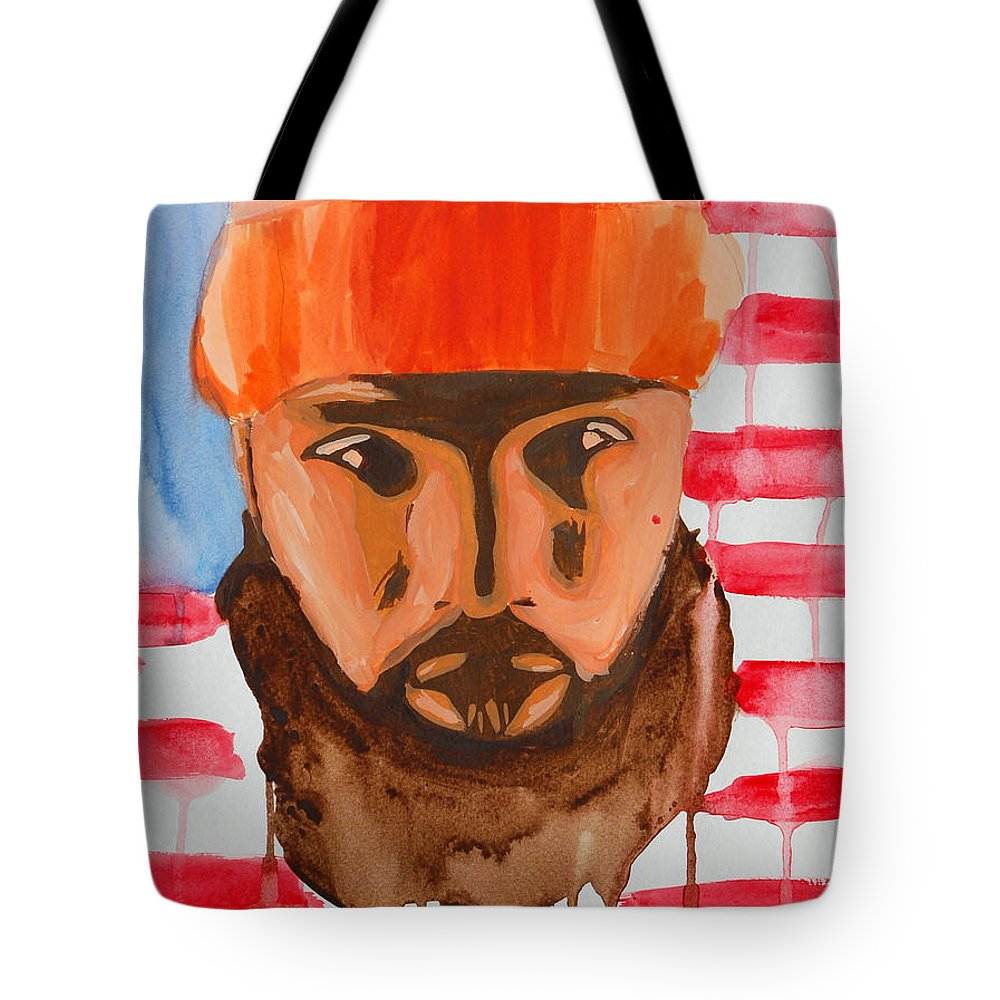Music Tote Bag featuring the painting Stalley by Michael Ringwalt