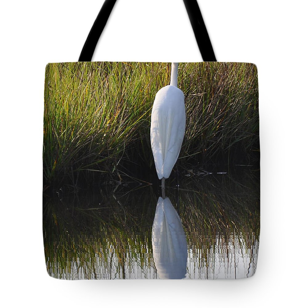 Bird Tote Bag featuring the photograph Standing Tall by Bruce Gourley