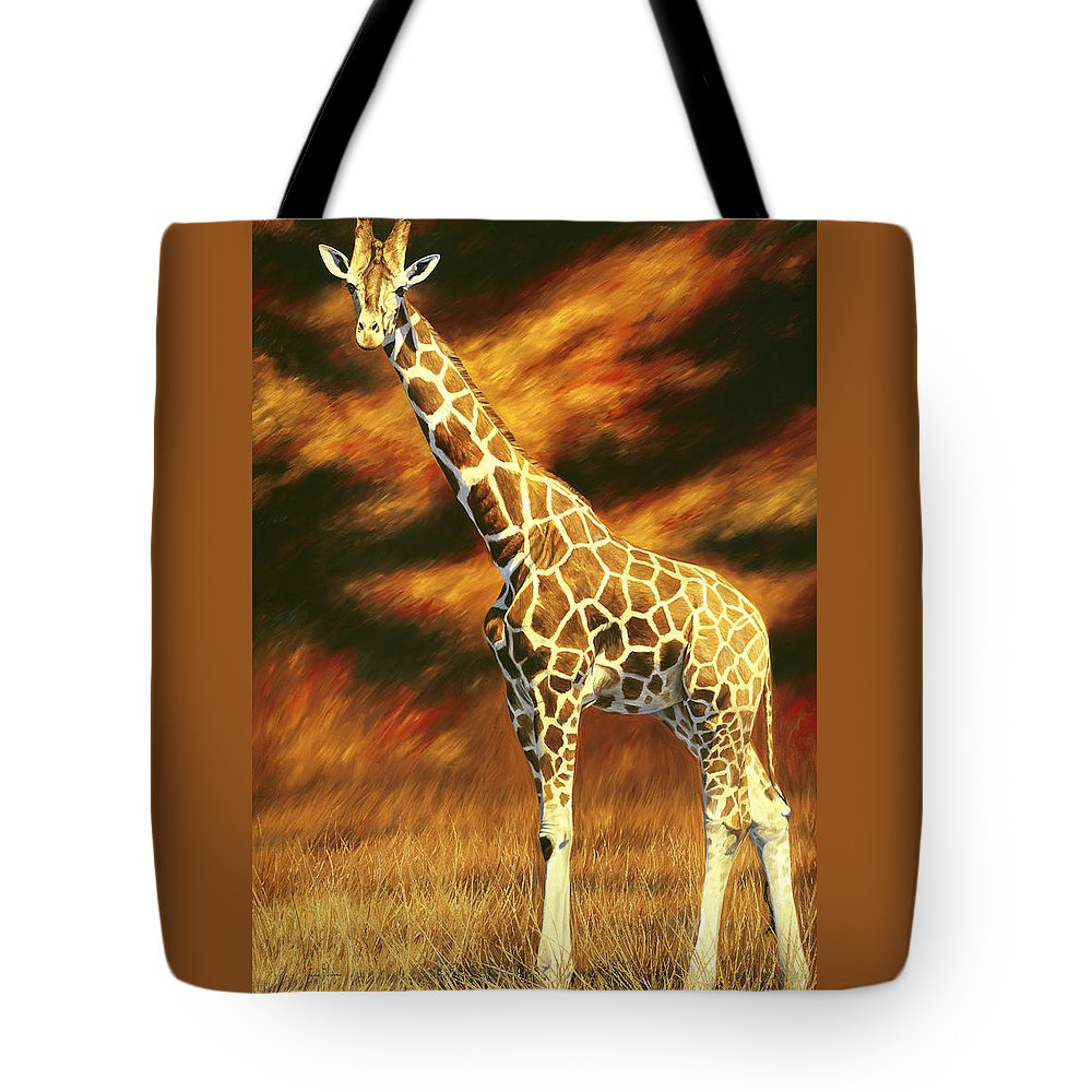 Standing Tall Tote Bags
