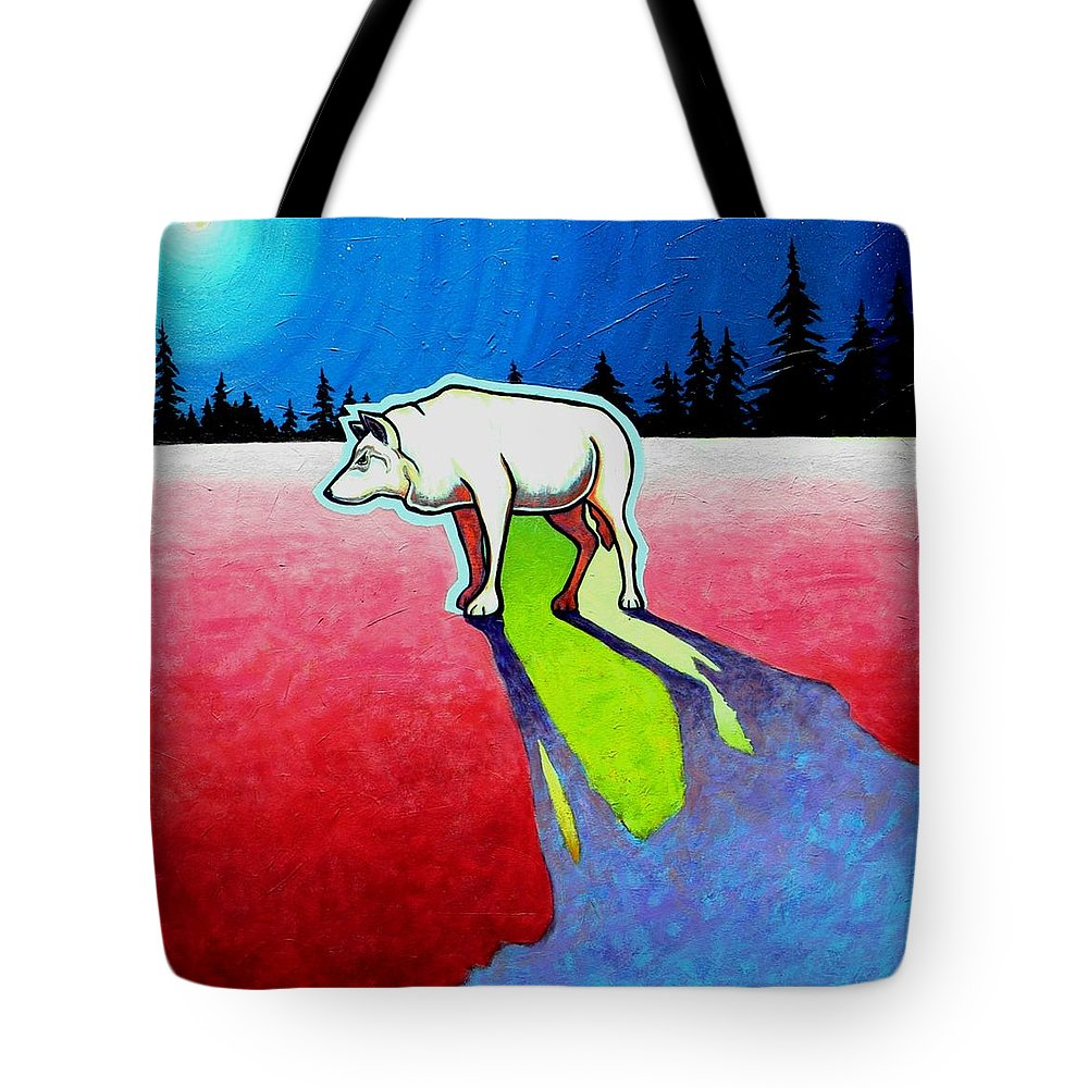 Wildlife Tote Bag featuring the painting Starry Starry Night by Joe Triano