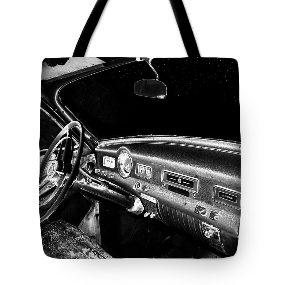 Art Tote Bag featuring the photograph Stars Through The Windshield by David Lee Thompson