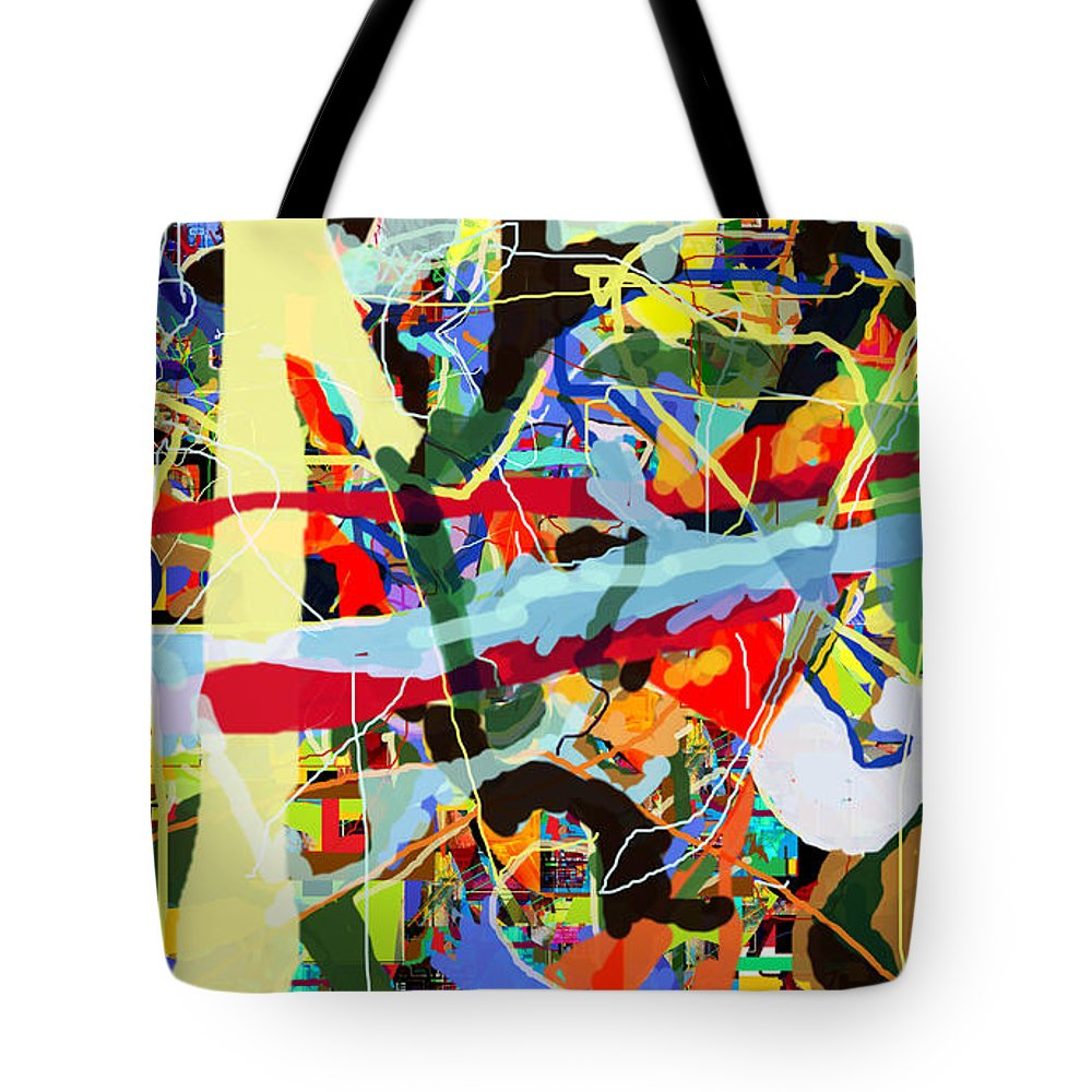 Torah Tote Bag featuring the digital art Wiping Out The Language Of Amalek 9dbh by David Baruch Wolk