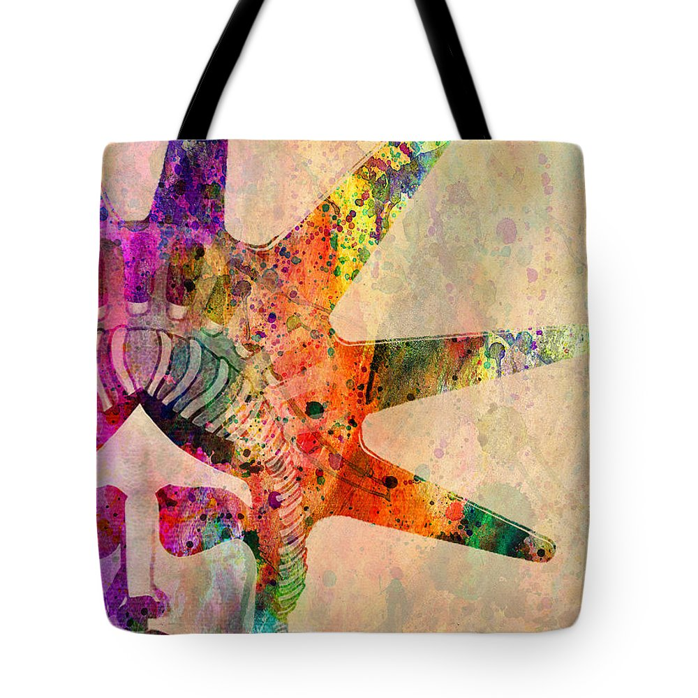 Liberty Statue Tote Bag featuring the digital art Statue Of Liberty by Mark Ashkenazi