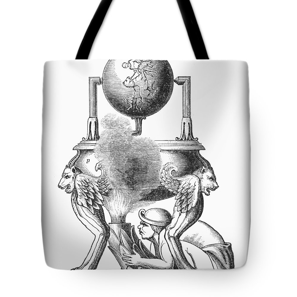 100 Tote Bag featuring the photograph Steam Engine, C100 A.d by Granger