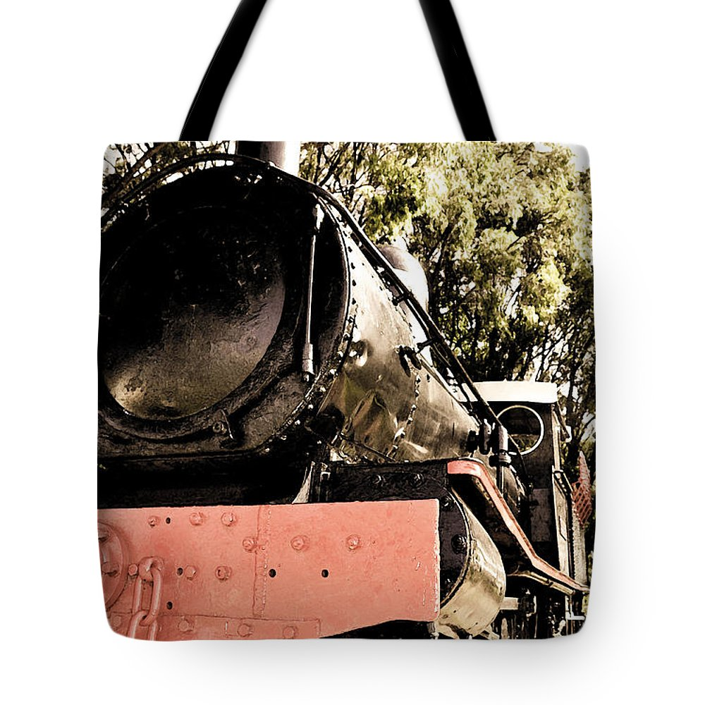 Old Tote Bag featuring the photograph Steamer by Phill Petrovic