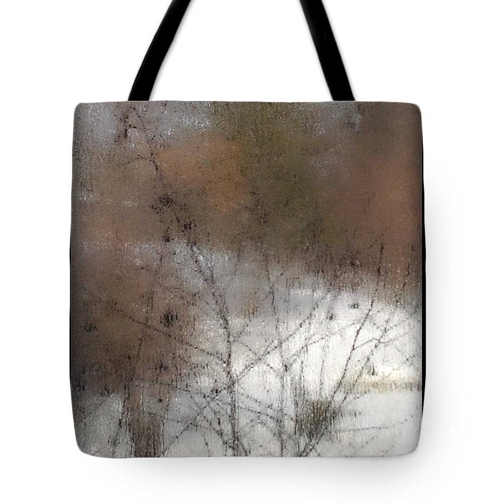 Window Tote Bag featuring the photograph Steamy Window by Tim Nyberg