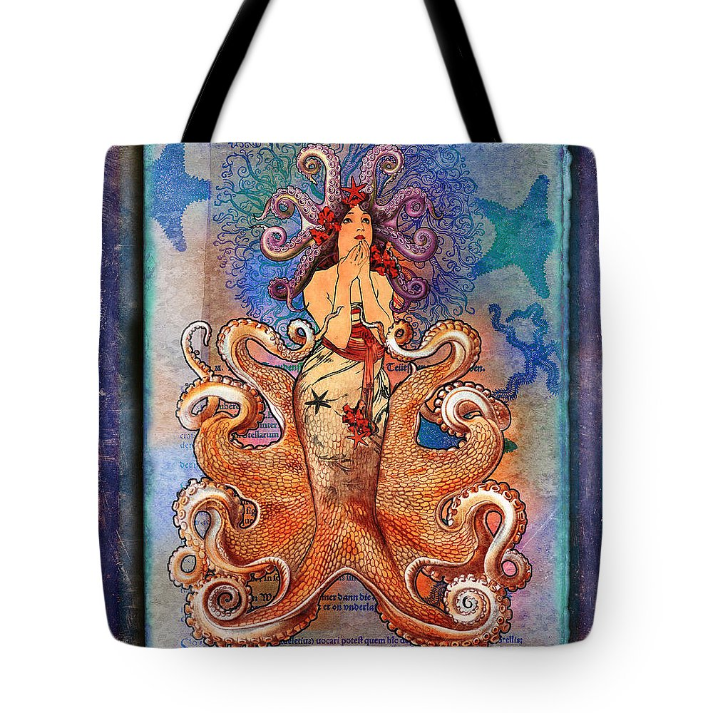Aimee Stewart Tote Bag featuring the digital art Stella by Aimee Stewart