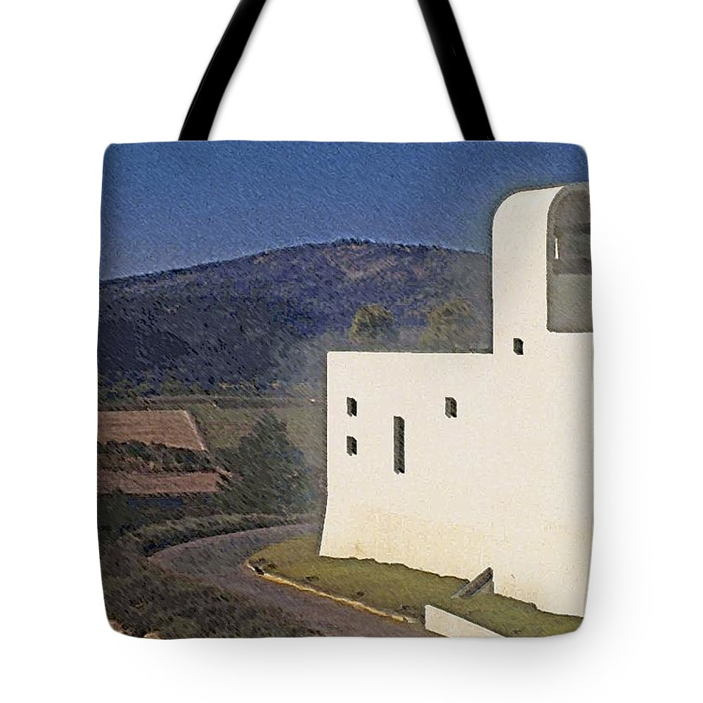 California Tote Bag featuring the photograph Sterling Vineyard Napa by Stuart Litoff