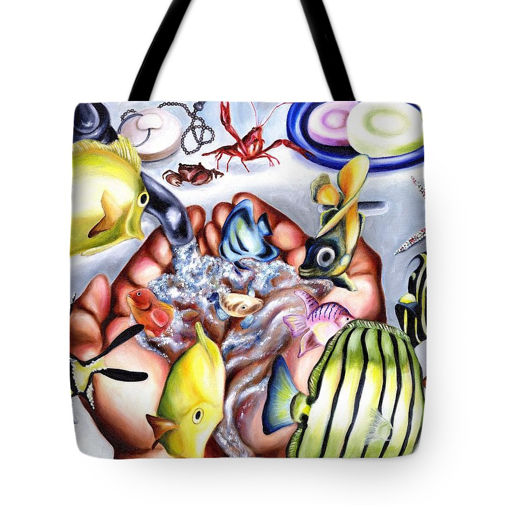 Dream Tote Bag featuring the painting Still Drunk by Hiroko Sakai