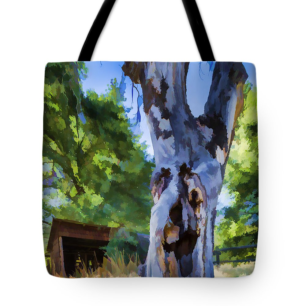 Barn Tote Bag featuring the photograph Still Got It by Scott Campbell