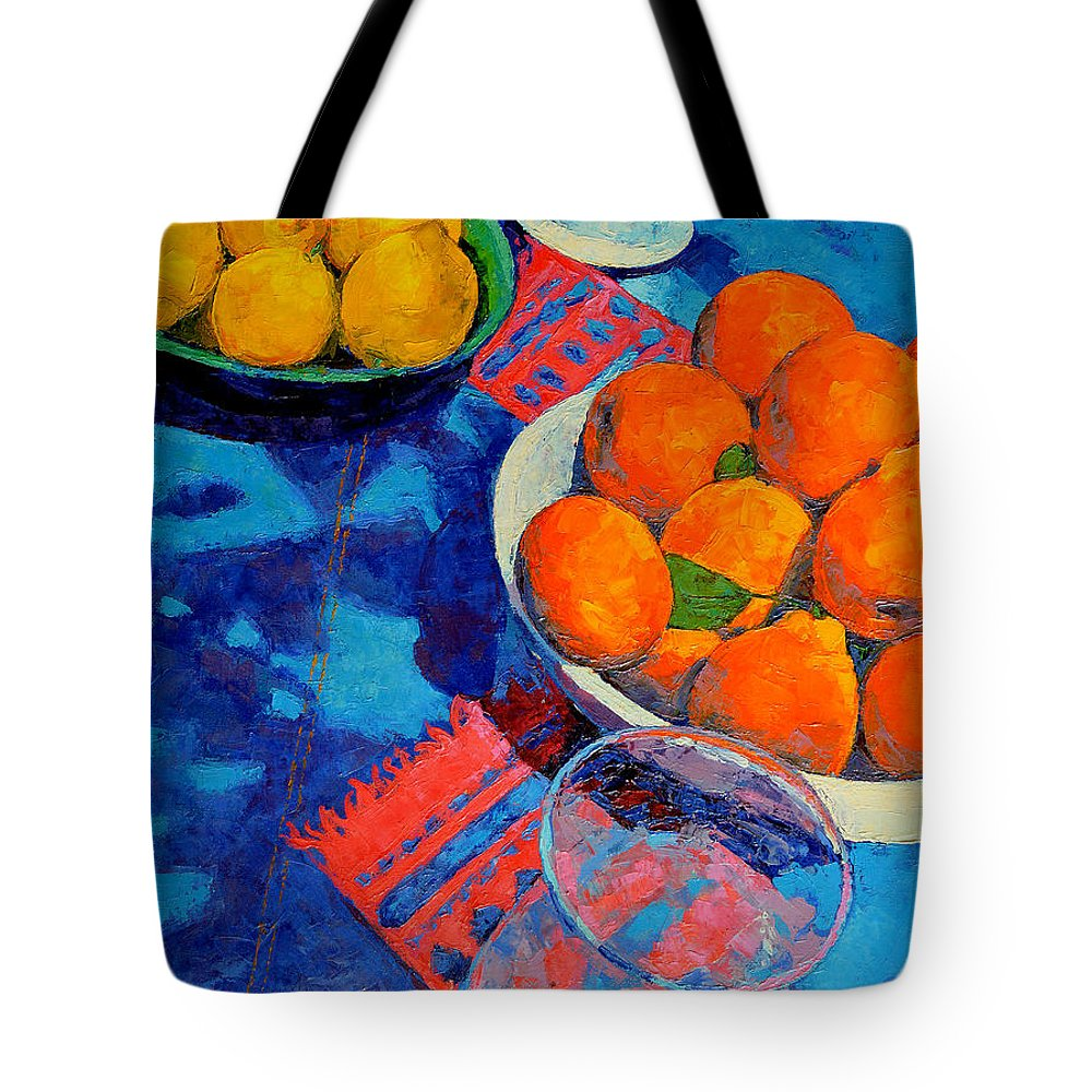 Still Life Tote Bag featuring the painting Still Life 2 by Iliyan Bozhanov