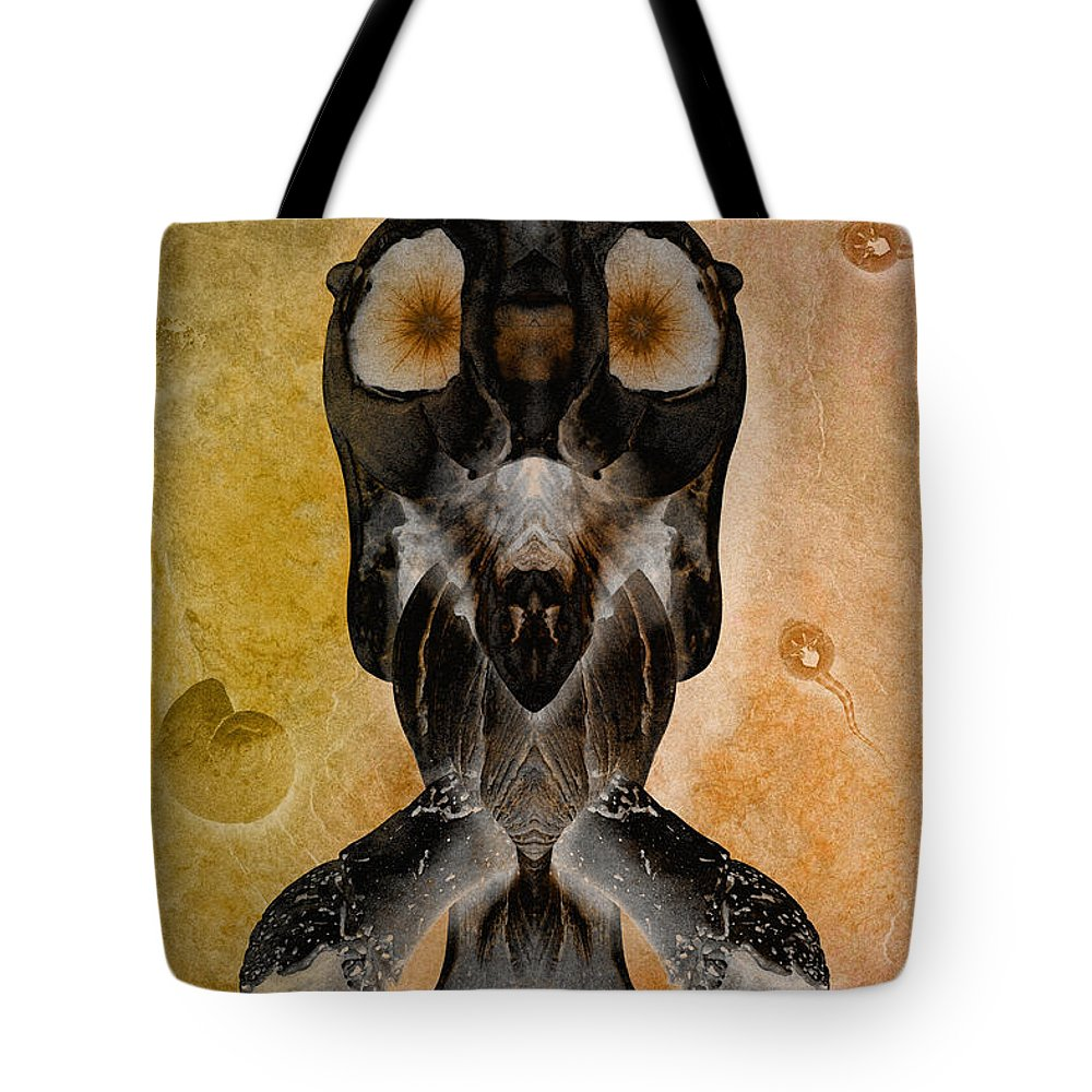 Alien Tote Bag featuring the photograph Still Not 9 by WB Johnston