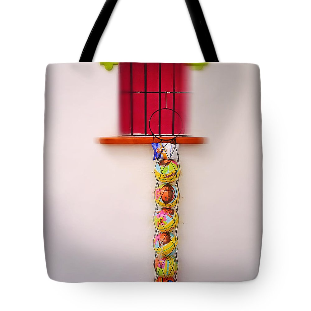 Oys Tote Bag featuring the painting Stocking by Charles Stuart