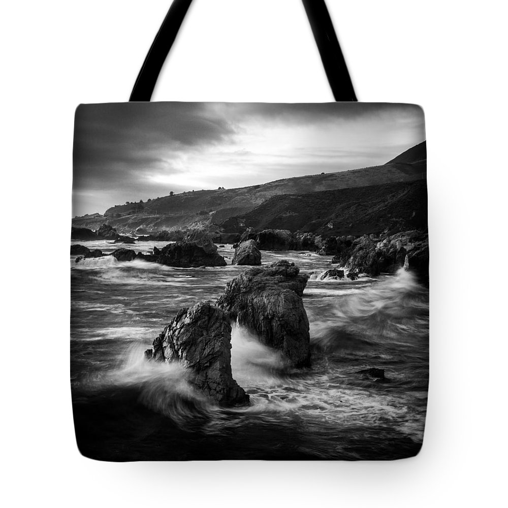 Soberanes Tote Bag featuring the photograph Stone Cold Soberanes by Dayne Reast