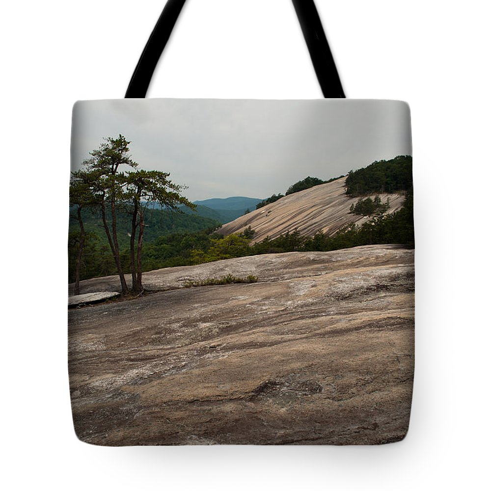Stone Mountain Tote Bag featuring the photograph Stone Mountain State Park North Carolina 01 by Bruce Gourley