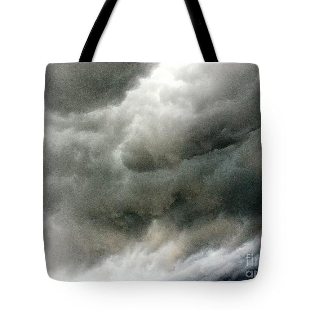 Cloud Tote Bag featuring the photograph Storm Clouds by Melissa Darnell Glowacki