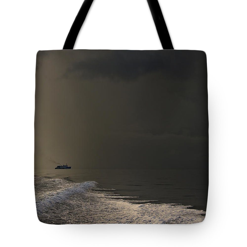 Maldives Tote Bag featuring the photograph Storm Coming. Maldives by Jenny Rainbow