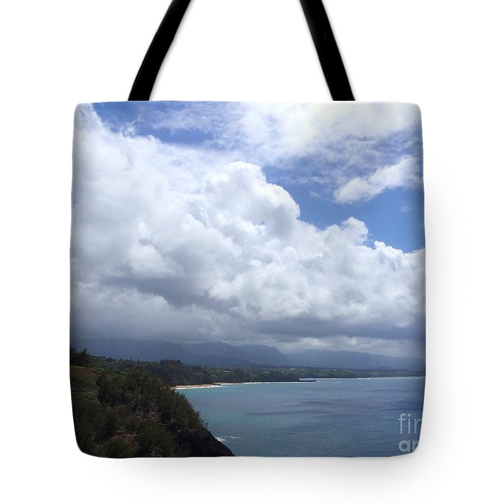 Bali Hai Tote Bag featuring the photograph Storm Over Bali Hai by Mary Deal