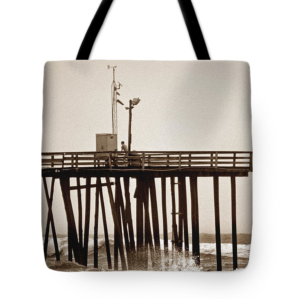 Scenic Tours Tote Bag featuring the photograph Storm Watch by Skip Willits