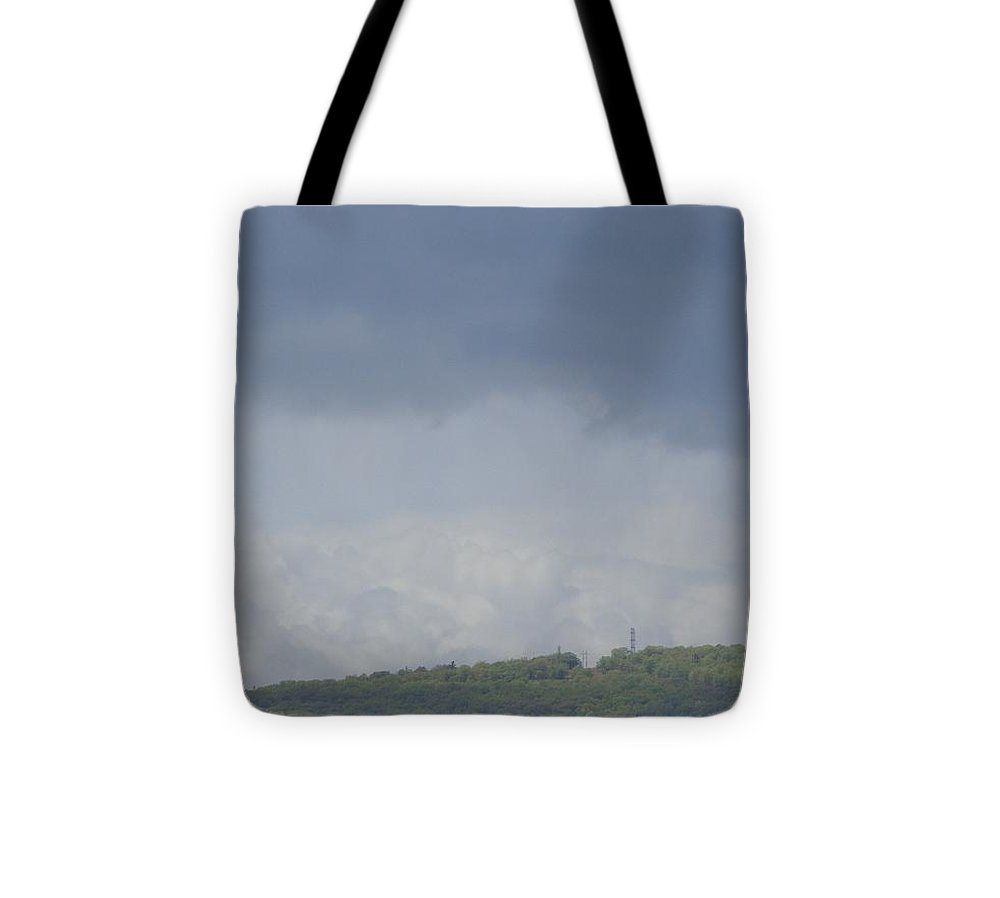 Storm Tote Bag featuring the photograph Storm's Coming by Christina Verdgeline