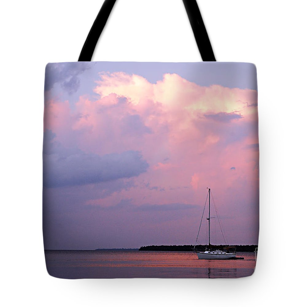 Photography Tote Bag featuring the photograph Stormy Seas Ahead by Larry Ricker
