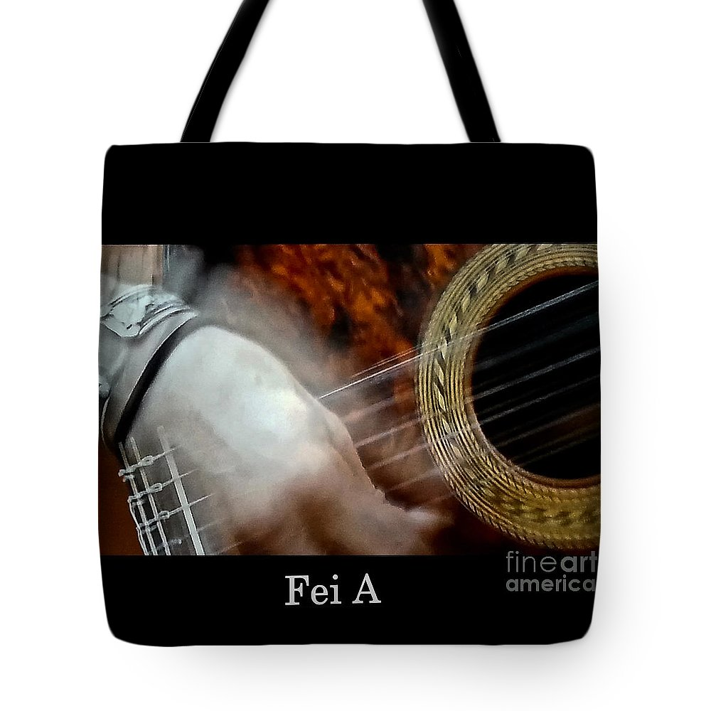 People Tote Bag featuring the photograph Story Teller by Fei A