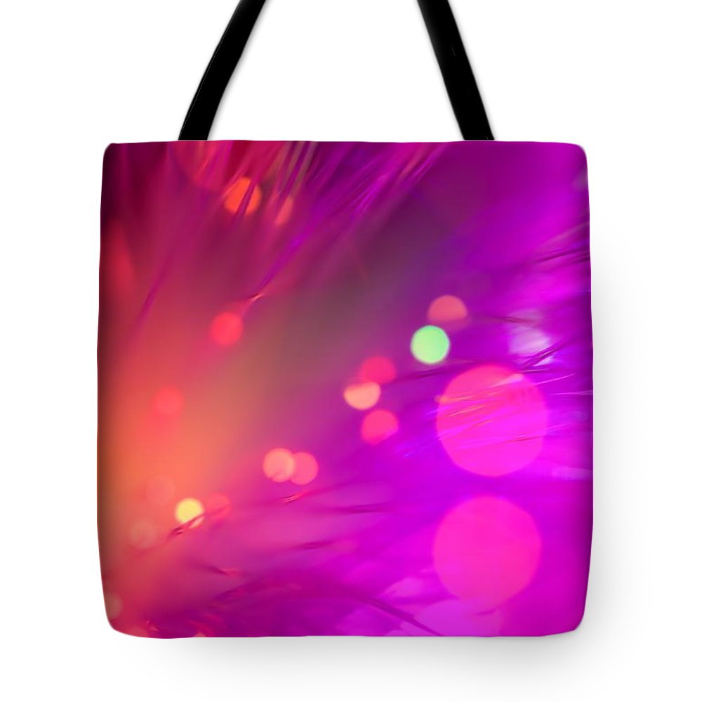 Abstract Tote Bag featuring the photograph Strange Condition by Dazzle Zazz