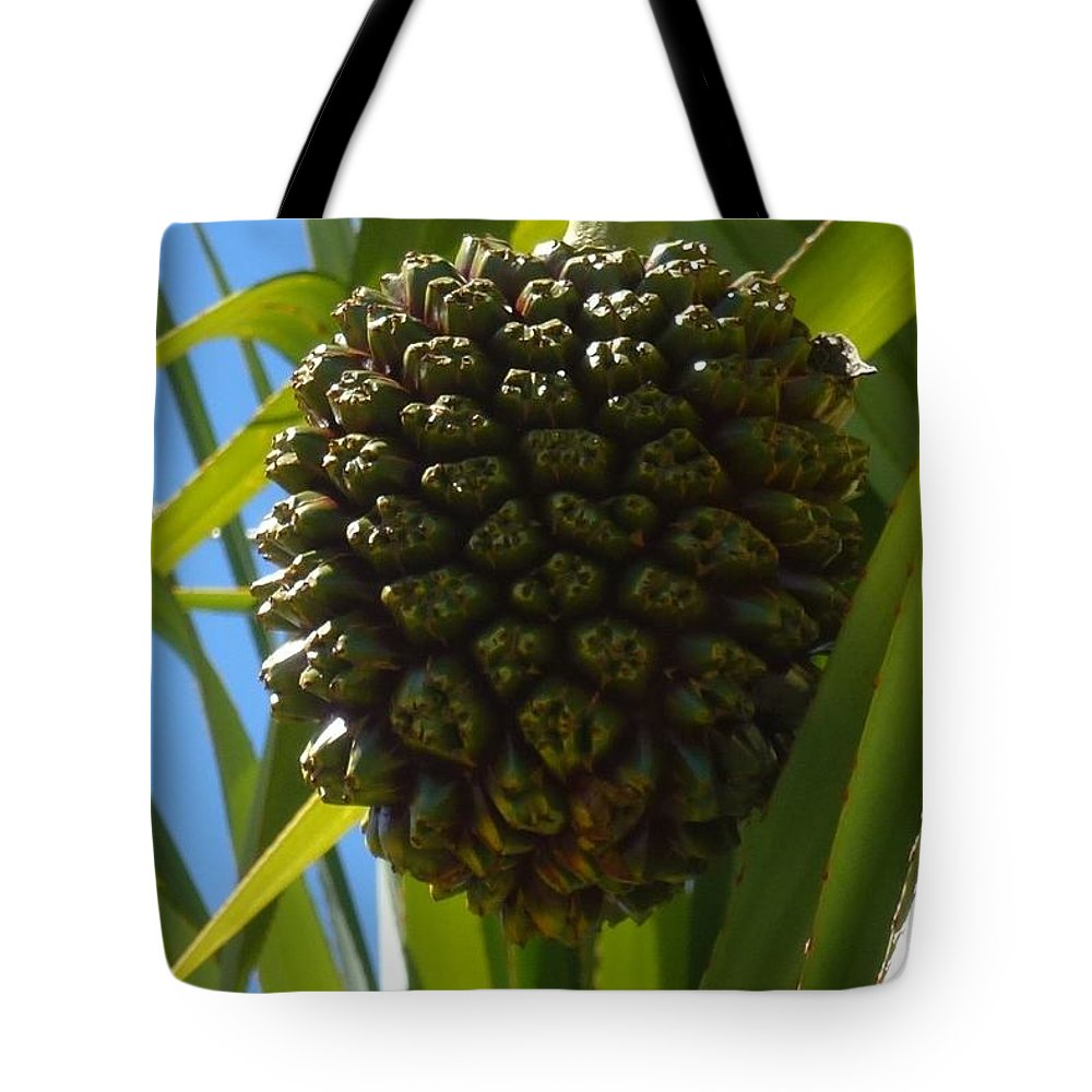 Fruit Tote Bag featuring the photograph Strange Fruit by Barbie Corbett-Newmin