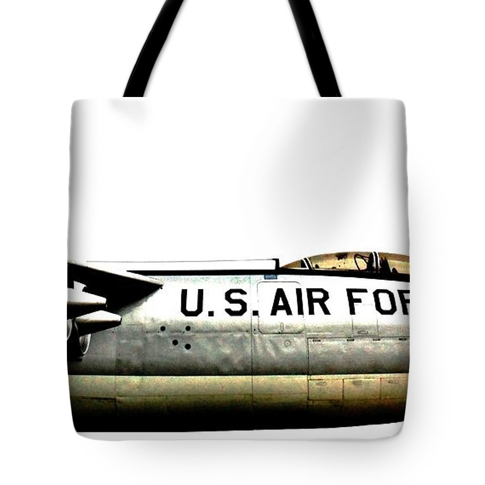 B-47 Tote Bag featuring the photograph Stratojet by Benjamin Yeager