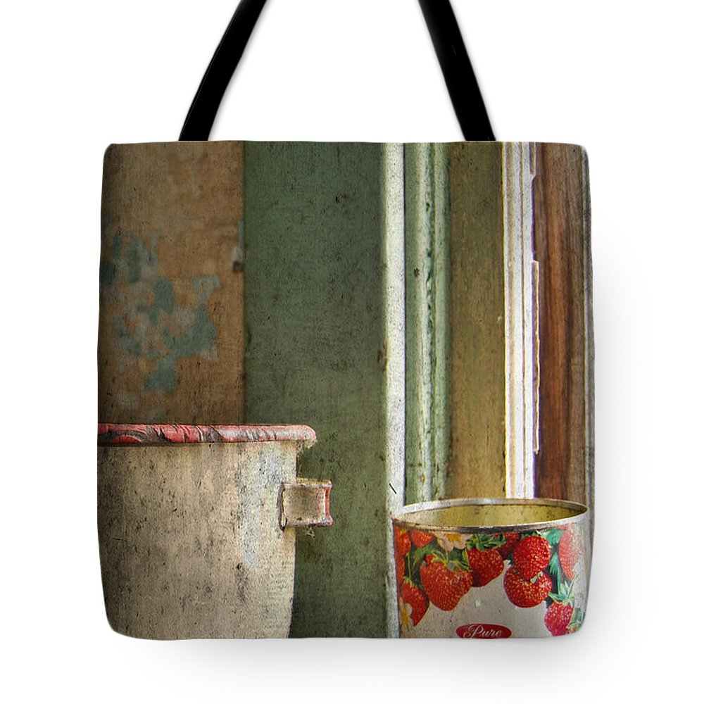 Strawberry Jam Tote Bag featuring the photograph Strawberry Jam by The Artist Project