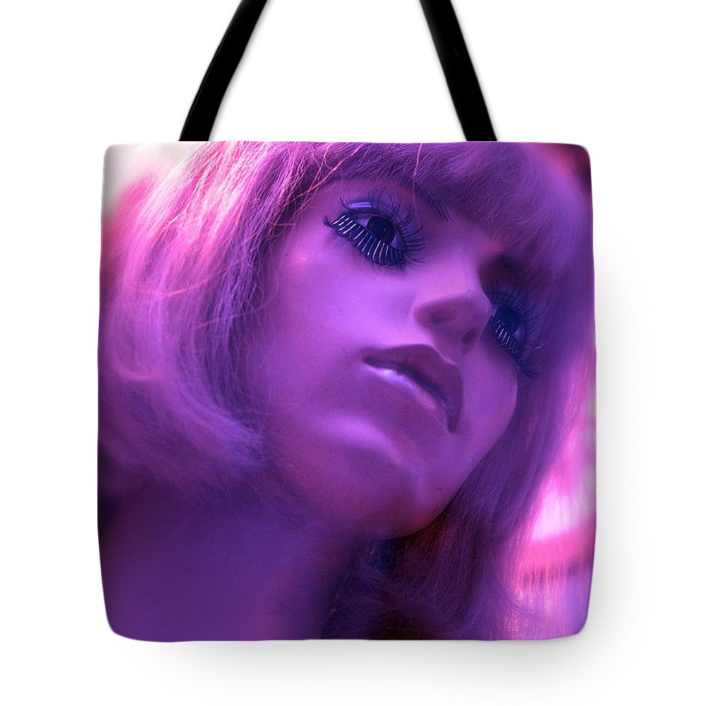 Mannequins Tote Bag featuring the photograph Strawberry Lemonade by Ira Shander