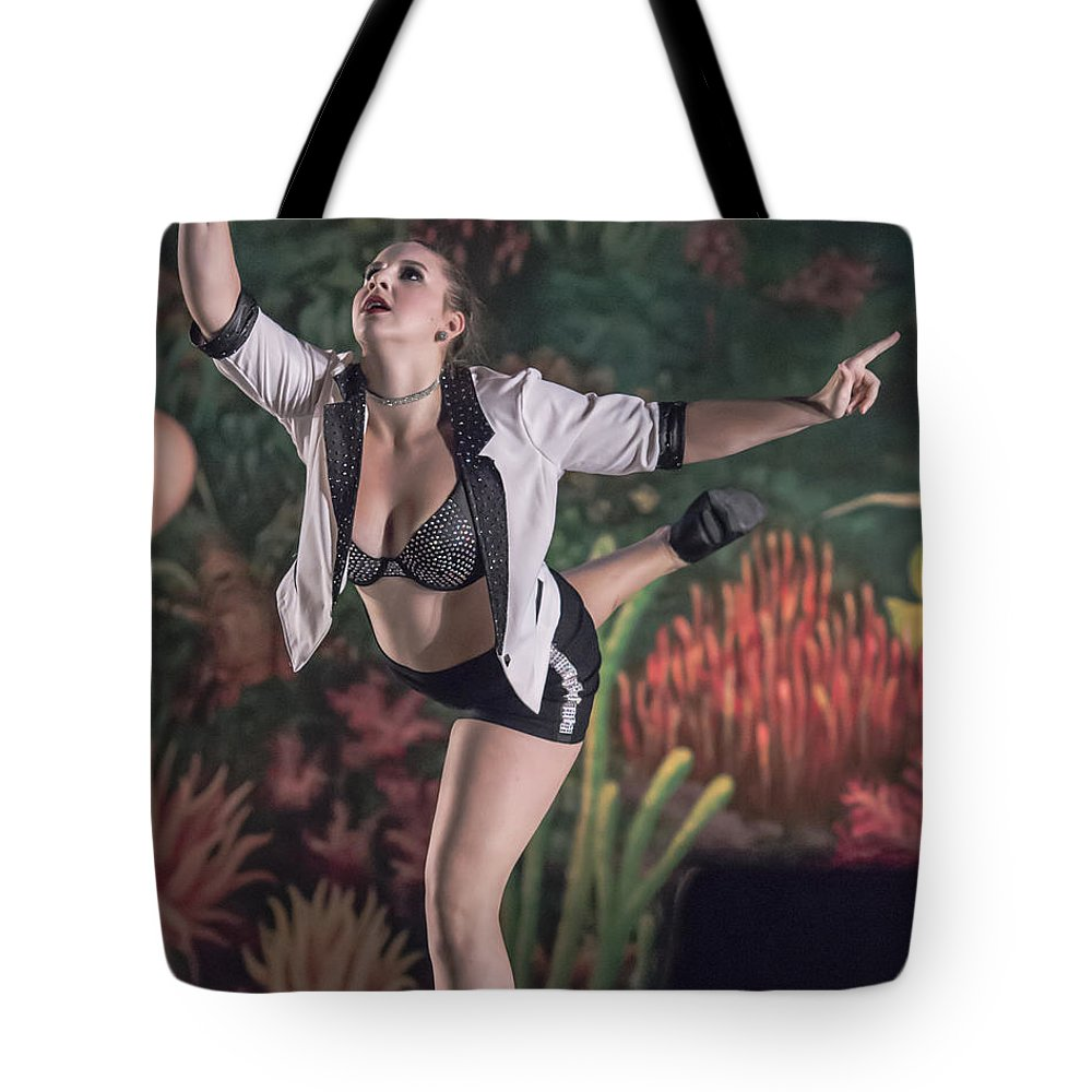 Khsd Recital 2014 Tote Bag featuring the photograph Strike A Pose by Stephen Brown