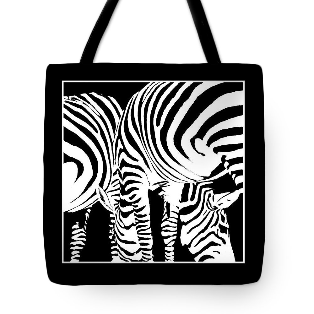 Stripes Tote Bag featuring the photograph Stripes by David and Carol Kelly
