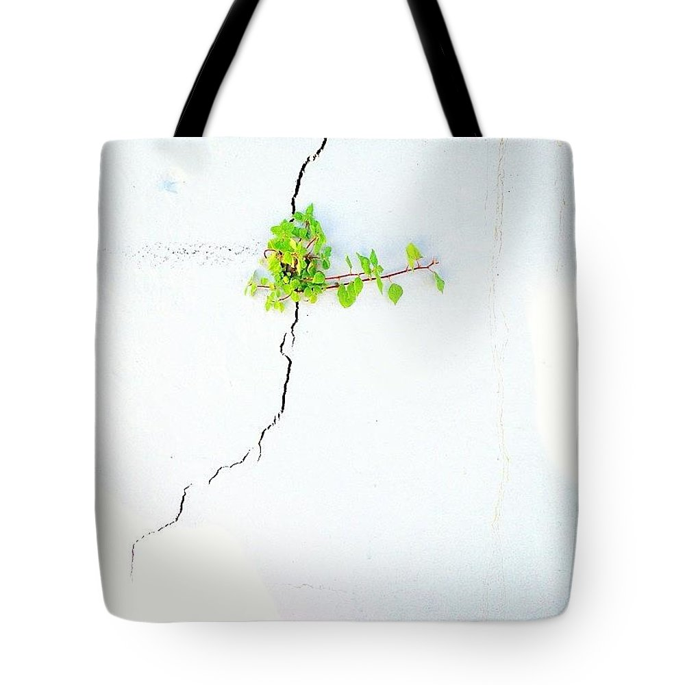 Simpleandpure Tote Bag featuring the photograph Striving by Julie Gebhardt