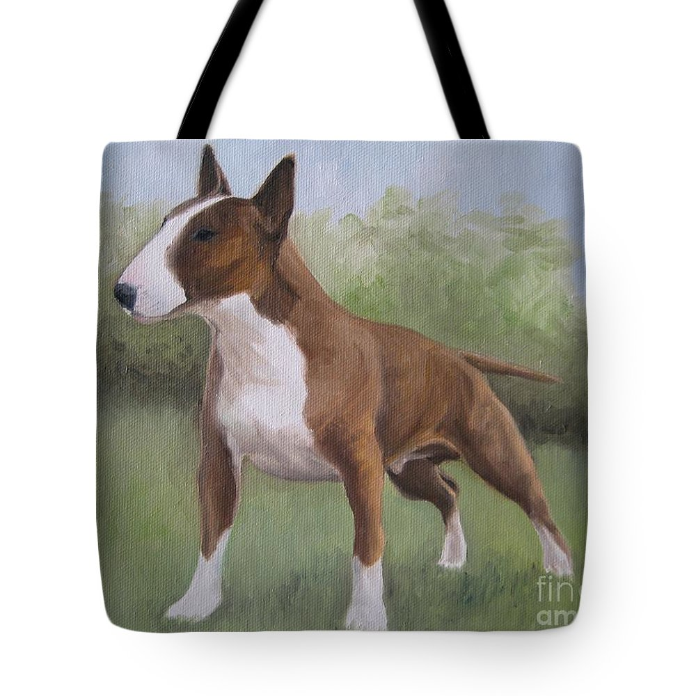 Noewi Tote Bag featuring the painting Strong by Jindra Noewi
