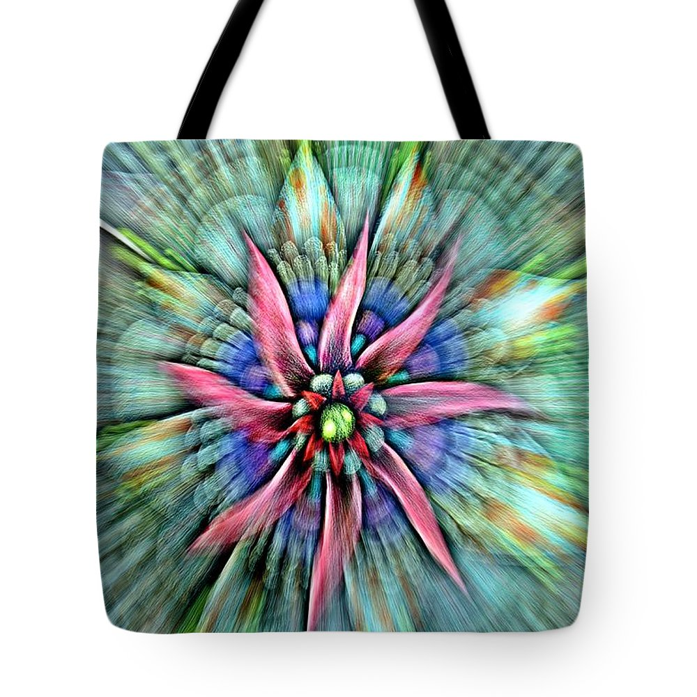 Zipped Tote Bag featuring the photograph Sttained Glass Window by Randy J Heath