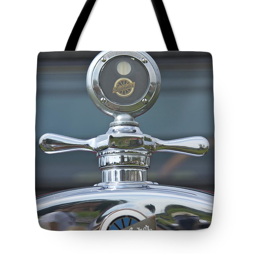 Glenmoor Tote Bag featuring the photograph Studebaker by Jack R Perry