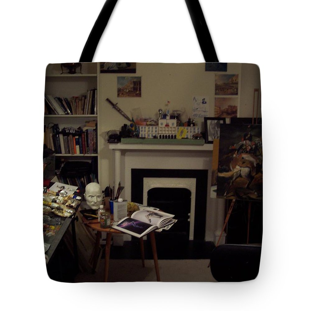 Tote Bag featuring the photograph Savannah 9studio by Jude Darrien