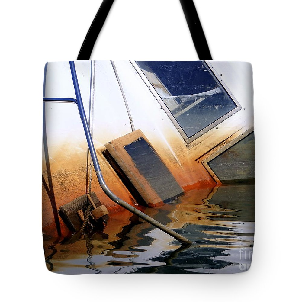 Nature Tote Bag featuring the photograph Submerged by Ed Weidman