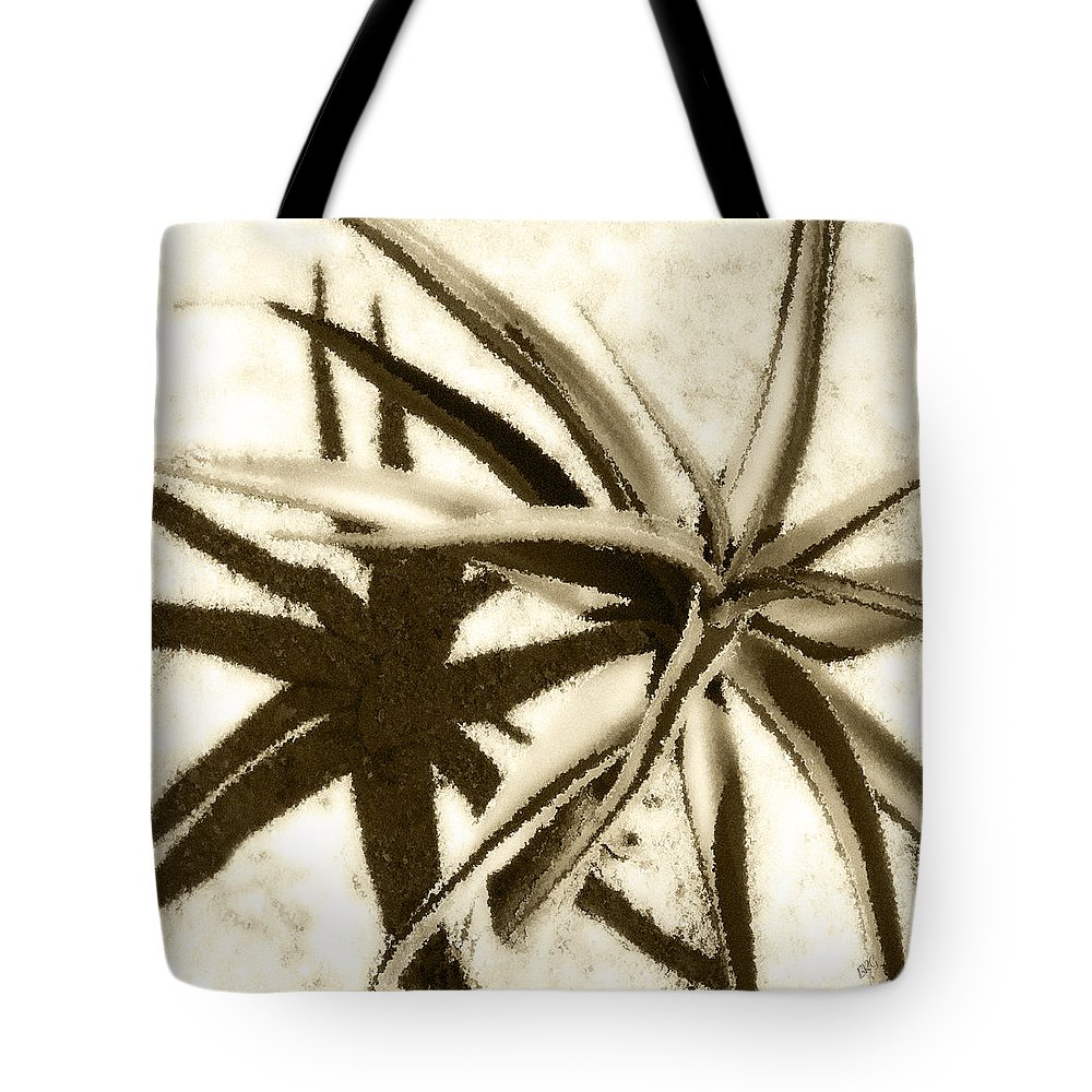 Aloe Tote Bag featuring the photograph Succulent Under The Scorching Desert Sun by Ben and Raisa Gertsberg