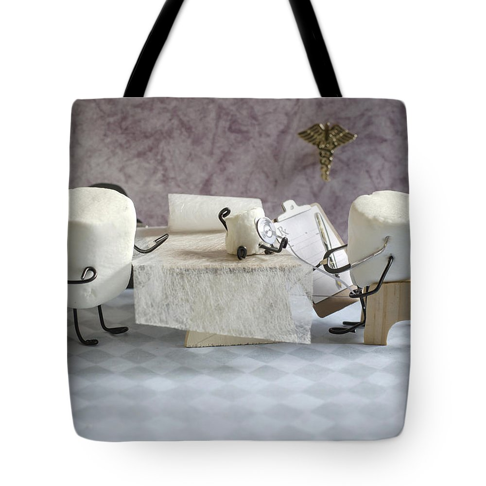 Physician Tote Bag featuring the photograph Sugar Specialist by Heather Applegate